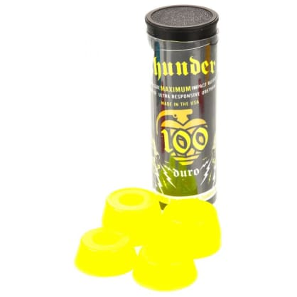 Thunder Bushings 100D - neon yellow