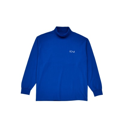 Polar Skate Co Script Turtleneck - Egyptian Blue