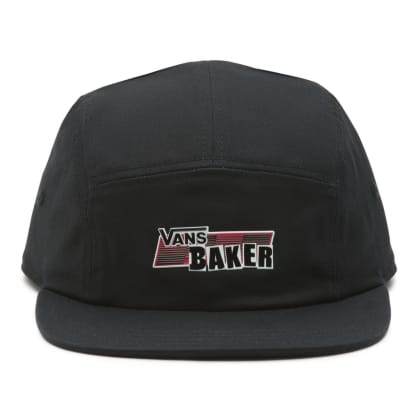 Vans x Baker 5-Panel Camper Hat - Black