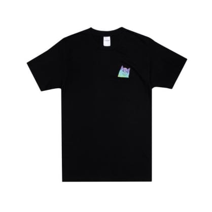 Ripndip Rainbow Nerm Pocket T-Shirt - Black