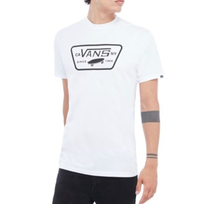 Vans - Full Patch T-Shirt - White