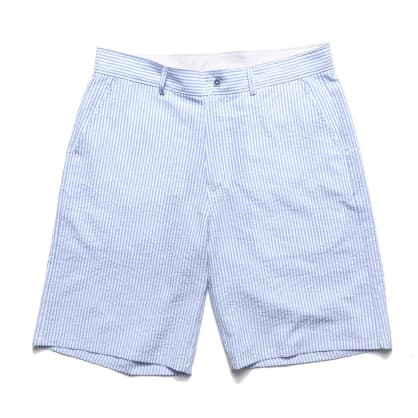 Chrystie NYC Stripe Shorts - Blue