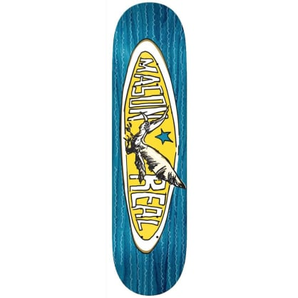 Real Mason Oval Skateboard Deck 8.25""