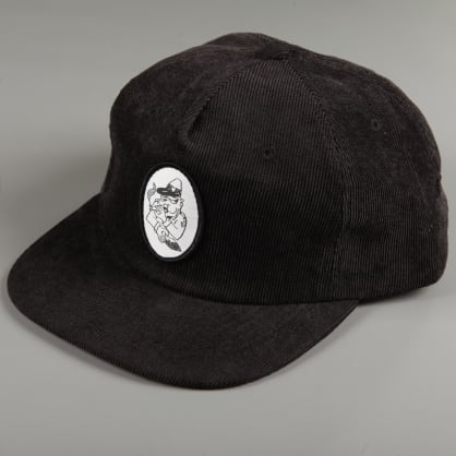 PassPort 'Toby Zoates - Coppers' 5 Panel Cap (Black)