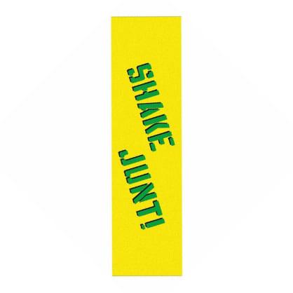 Shake Junt Sprayed Griptape - Yellow/Green