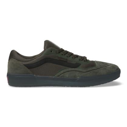 Vans AVE Pro Rainy Day Skateboard Shoes - Forest Night/Black