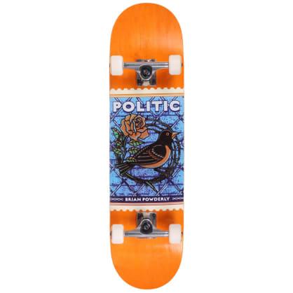 Politic Powderly Stamp Standard Complete Skateboard 8.12