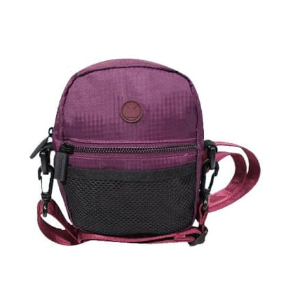 The BumBag Co - Staple Compact Shoulder Bag - Maroon
