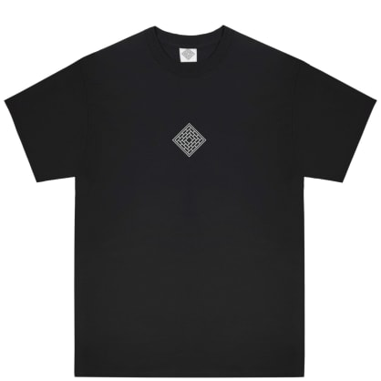 The National Skateboard Co Classic Text T-Shirt - Black