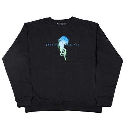 Atlantic Drift Jelly Crewneck - Black