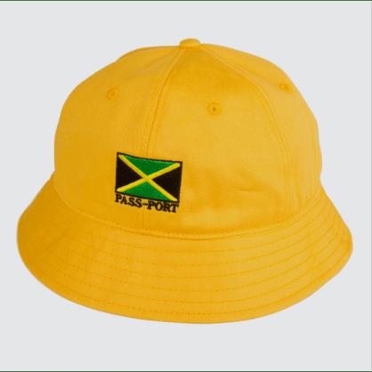 Passport Skateboards - Jamaica Twill Bucket Hat (Yellow)