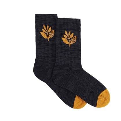 Magenta Skateboards - Plant Socks - Black / Honey
