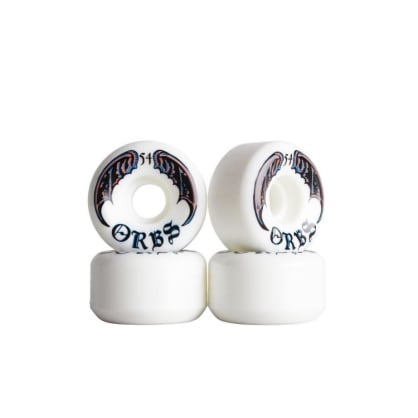 Orbs Wheels- Specters 54mm/ White