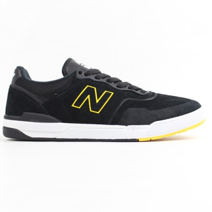 New Balance Numeric 913 Brandon Westgate Shoe Black/Yellow