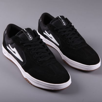 Lakai 'Atlantic' Skate Shoes (Black Suede)