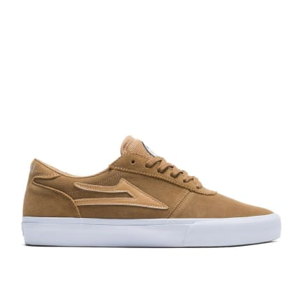 Lakai Manchester Griffin Gass Suede Skate Shoes - Walnut