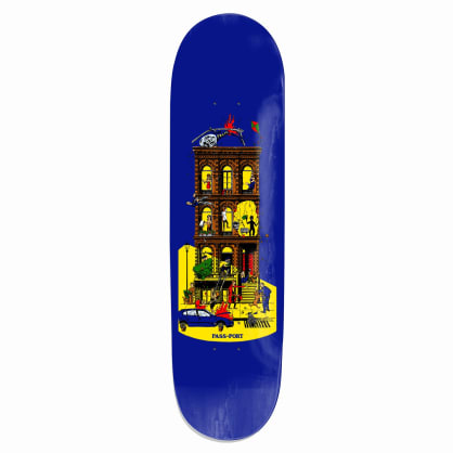 Pass-Port Day And Night Series - Night Skateboard Deck - 8.38