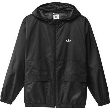Adidas Light Windbreaker Jacket - Black/Off White