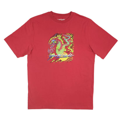 Yardsale Dragon T-Shirt - Cardinal