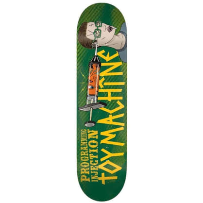 Toy Machine Programming Injection Skateboard Deck - 8.25