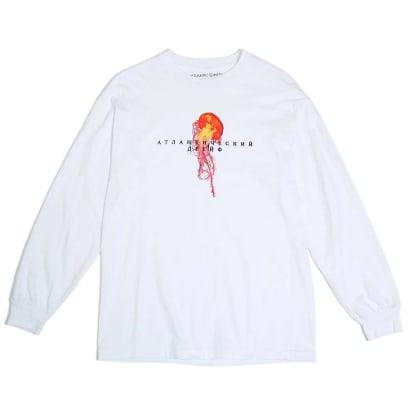 Atlantic Drift MOCKBA Jelly Long Sleeve T-Shirt - White