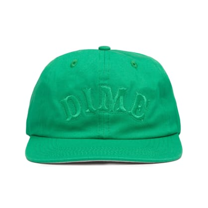 Dime Spell Out Snapback Cap - Green