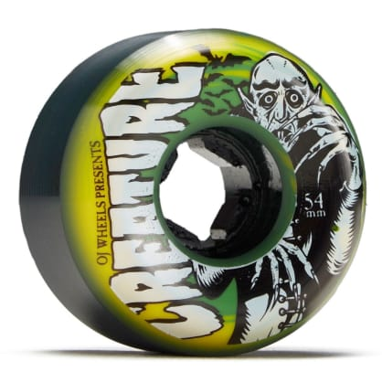 OJ - Thee Vampire Swirls Bloodsuckers Green Yellow Swirl 97a 54mm