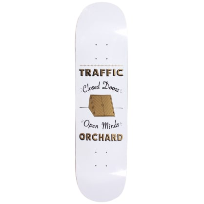Traffic X Orchard Skrelly Collab Deck White 8.1""