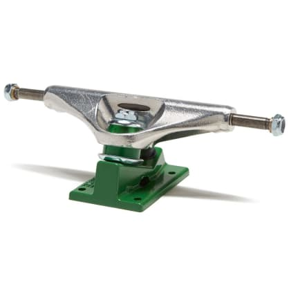 Venture Polished Green Skateboarding Trucks 6.1 (Sold as Single Trucks)
