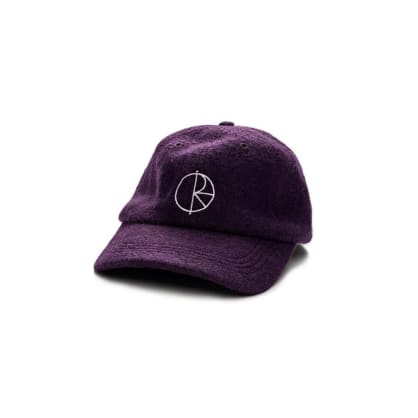 POLAR WOOL HAT - PURPLE
