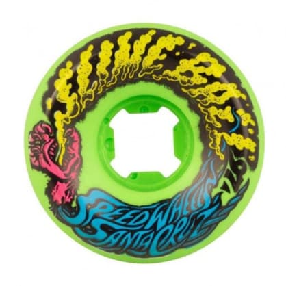 Santa Cruz Slime Balls Mini Vomits Wheels 56mm - Neon Green
