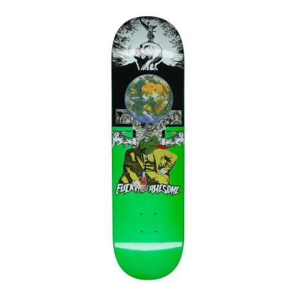 Fucking Awesome Frogman Green Skateboard Deck - 8""