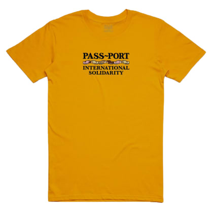 Pass~Port - Inter Solid Mens Tee - Gold