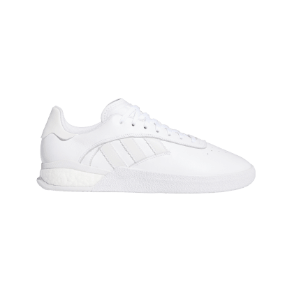 adidas 3ST.004 Skate Shoes - Cloud White / Cloud White / Cloud White