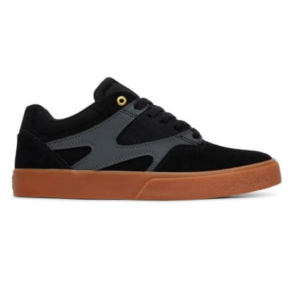 DC Kalis Vulc Black/Grey Shoes