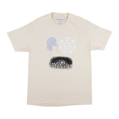 GX1000 Dark Entries T-Shirt - Cream