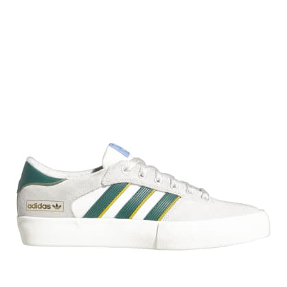 adidas Skateboarding Matchbreak Super Shoes - Crystal White / Collegiate Green / Crew Yellow