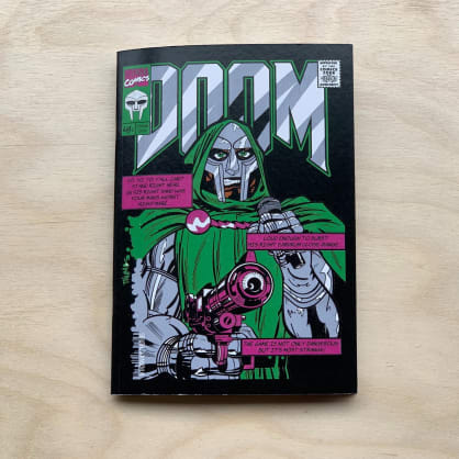 Minerva - DR DOOM A6 Notebook