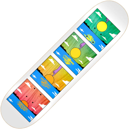 Real Skateboards Mason Silva Sunset deck 8.06""