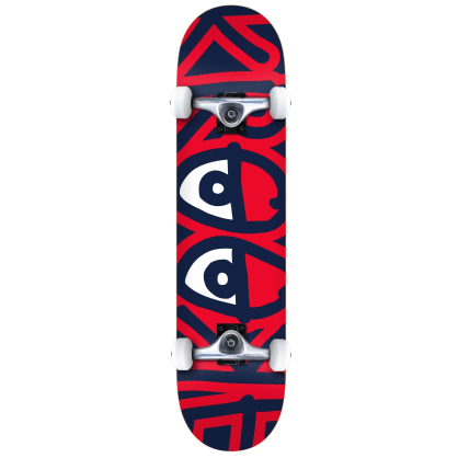 Krooked Big Eyes Complete Skateboard - 7.75
