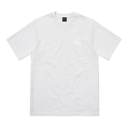 Dime Classic Small Logo T-Shirt - Ash