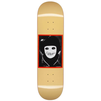 "Hockey Skateboards - No Face Yellow 8.25"" Wide"