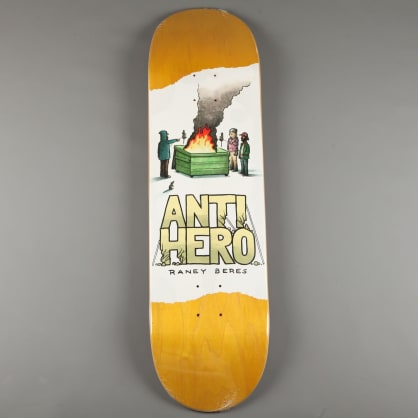 "Anti Hero 'Beres Expressions' 8.75"" Deck (Yellow Woodstain)"
