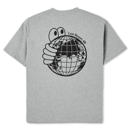 Last Resort AB World T-Shirt - Heather Grey
