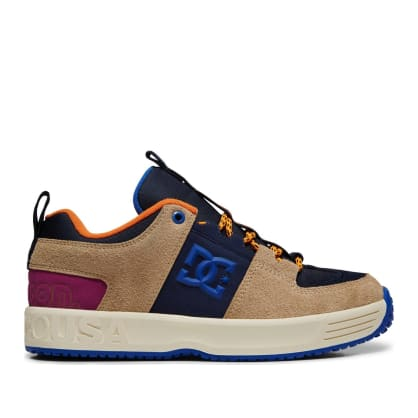 DC Shoes x Paterson Lynx OG Skate Shoes - Blue / Tan
