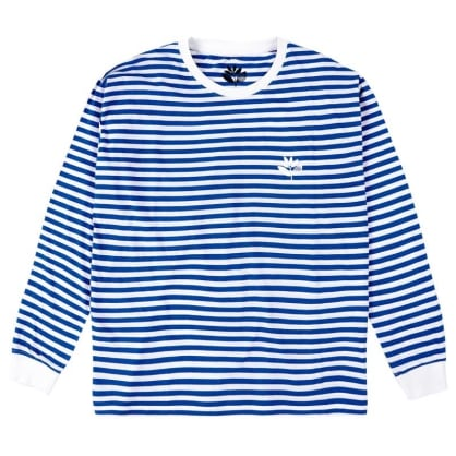 Magenta- Stripped Longsleeve Navy/White