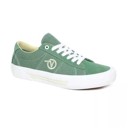 Vans - Saddle Sid Pro Shoes - Hedge Green