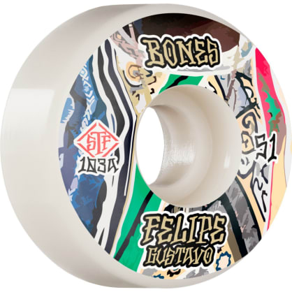 Bones Street Tech Formula Gustavo Bed-Stuy 51mm 103A V1 Wheels