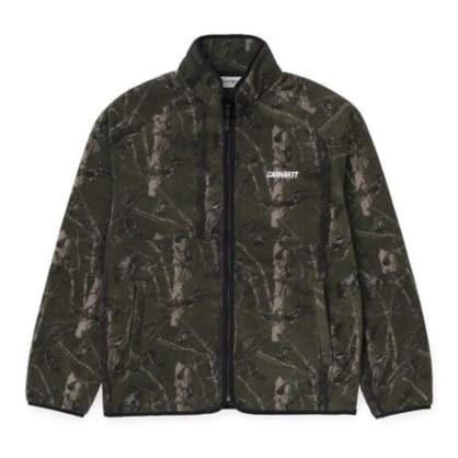 Carhartt WIP Beaufort Jacket - Camo Tree, Green / Reflective Grey