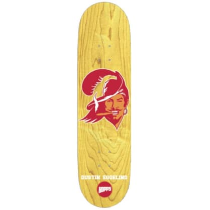 "HOPPS SKATEBOARDS PIRATE DUSTIN EGGELING 8.0"" ASSORTED VENEERS"